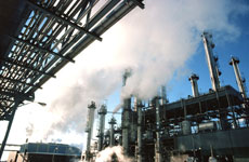power plants and other industry installations are the main CO2 emitters